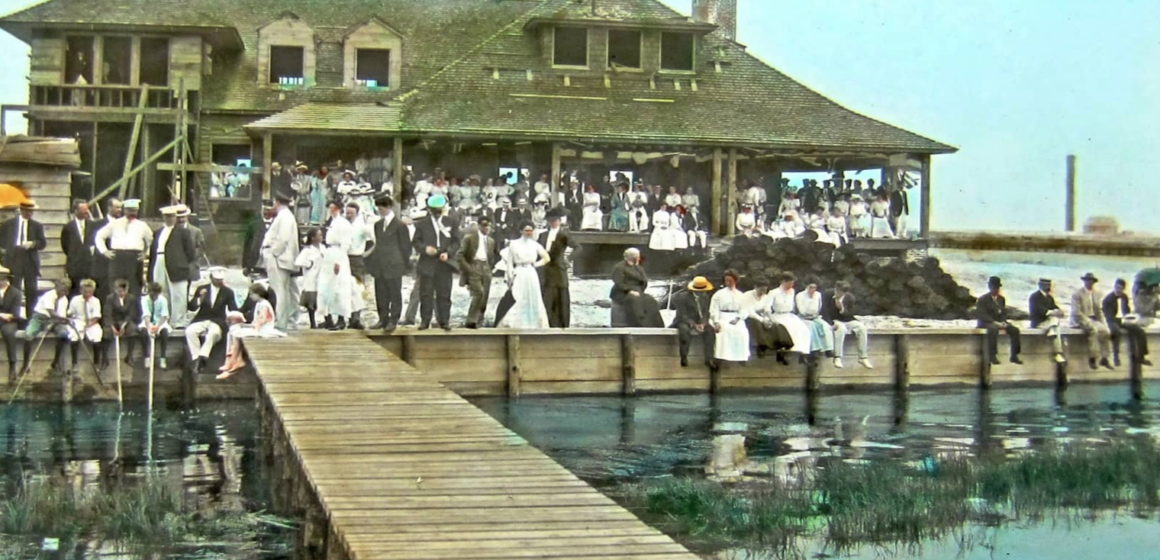 Stone Harbor Museum Minute #9 The Glass Slides