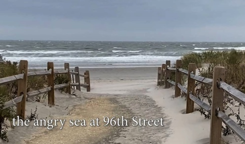 Tranquility Tuesday #34 The Angry Sea at 96th Street