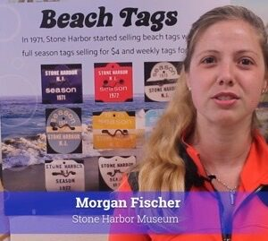Stone Harbor Museum Minute #52 The Beach Tags Part 1